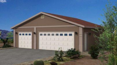 Garage Plan 5 34 ft. x 30 ft.
